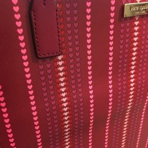 kate spade Bags - Kate Spade Margaretta tote cranberry Cocktail NWT